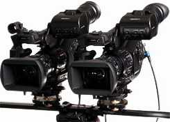 rig 3D stereo camere parallele