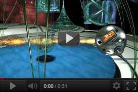 Scenografia virtuale, sigla e linea grafica SFERA   La7, edizione due (2001 2002) | sigle grafiche televisive  | Video Industriali | Filmati Aziendali | Giuseppe Galliano Multimedia Studio |