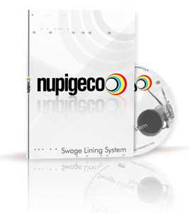 Nupigeco filmato industriale swage lining system (2011) | video industriali filmati istituzionali  | Video Industriali | Filmati Aziendali | Giuseppe Galliano Multimedia Studio |