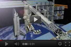 ricostruzione tridimensionale della Stazione Spaziale Internazionale   De Agostini (2000 2001) | documentari  | Video Industriali | Filmati Aziendali | Giuseppe Galliano Multimedia Studio |