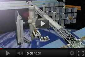 ricostruzione tridimensionale della Stazione Spaziale Internazionale   De Agostini (2000 2001) | produzioni varie  | Video Industriali | Filmati Aziendali | Giuseppe Galliano Multimedia Studio |