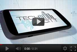 Tech & the City: il primo format realizzato con smartphone   linea grafica (2012) | sigle grafiche televisive  | Video Industriali | Filmati Aziendali | Giuseppe Galliano Multimedia Studio |