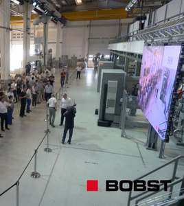 evento live Bobst Open House CO 8000 (2018) | video industriali filmati istituzionali  | Video Industriali | Filmati Aziendali | Giuseppe Galliano Multimedia Studio |