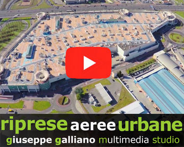 riprese aeree droni professionali in aree urbane |  | Video Industriali | Filmati Aziendali | Giuseppe Galliano Multimedia Studio |